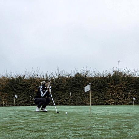Golfspilleren Sarah